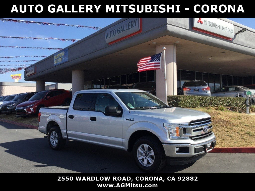 Pre Owned 2018 Ford F 150 Xlt Rwd Crew Cab Pickup