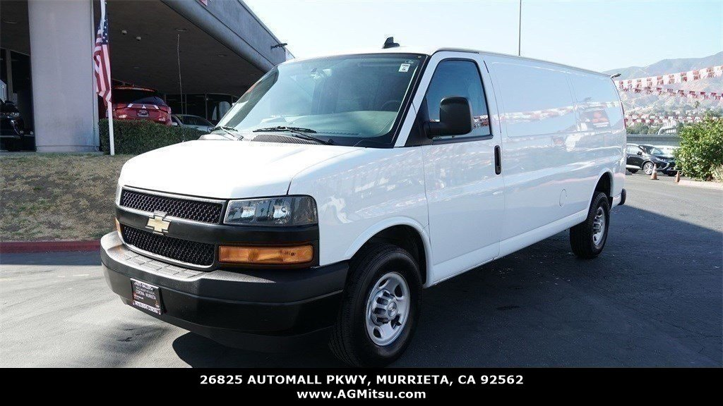 Pre-Owned 2019 Chevrolet Express Cargo Van Work Van