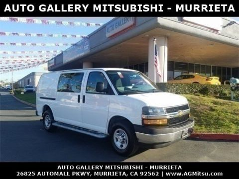 Pre-Owned 2018 Chevrolet Express Cargo Van Work Van RWD Full-size Cargo Van