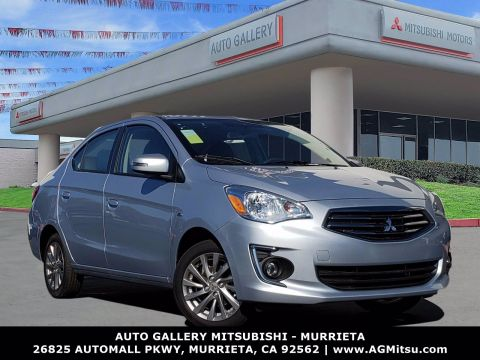 New 2019 Mitsubishi Mirage G4 SE FWD 4dr Car